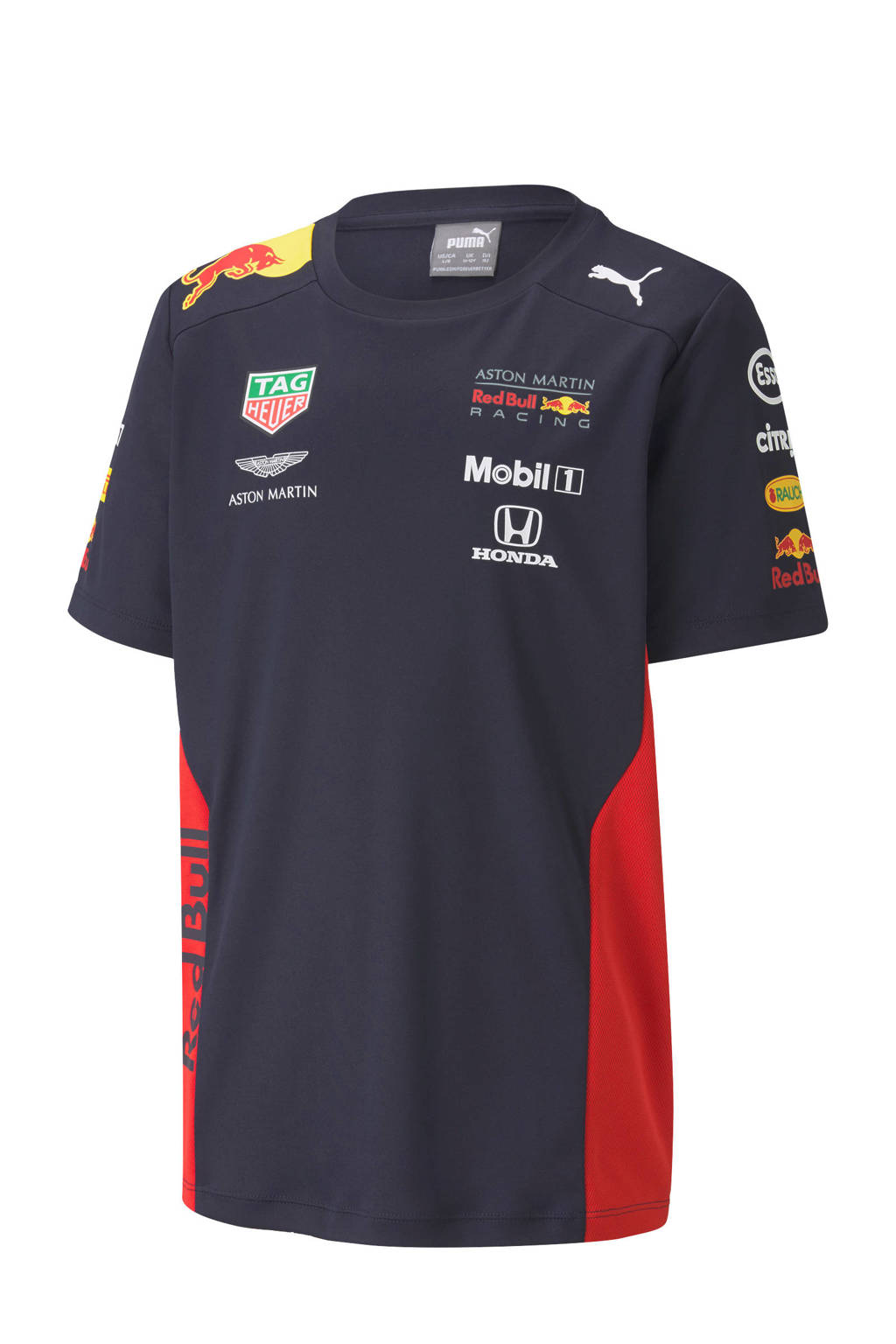 Puma   Red Bull Racing T-shirt donkerblauw, Jongens