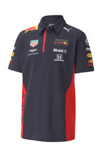 Puma   Red Bull Racing polo donkerblauw, Jongens