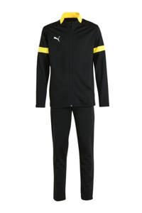 Puma   trainingspak zwart/geel, Zwart/geel