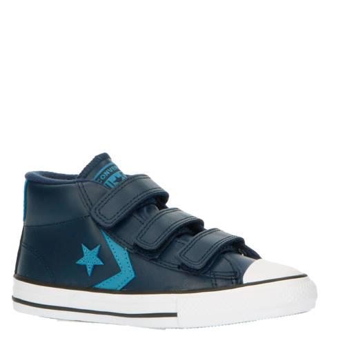 Converse Star Player 3V Mid halfhoge sneakers blau