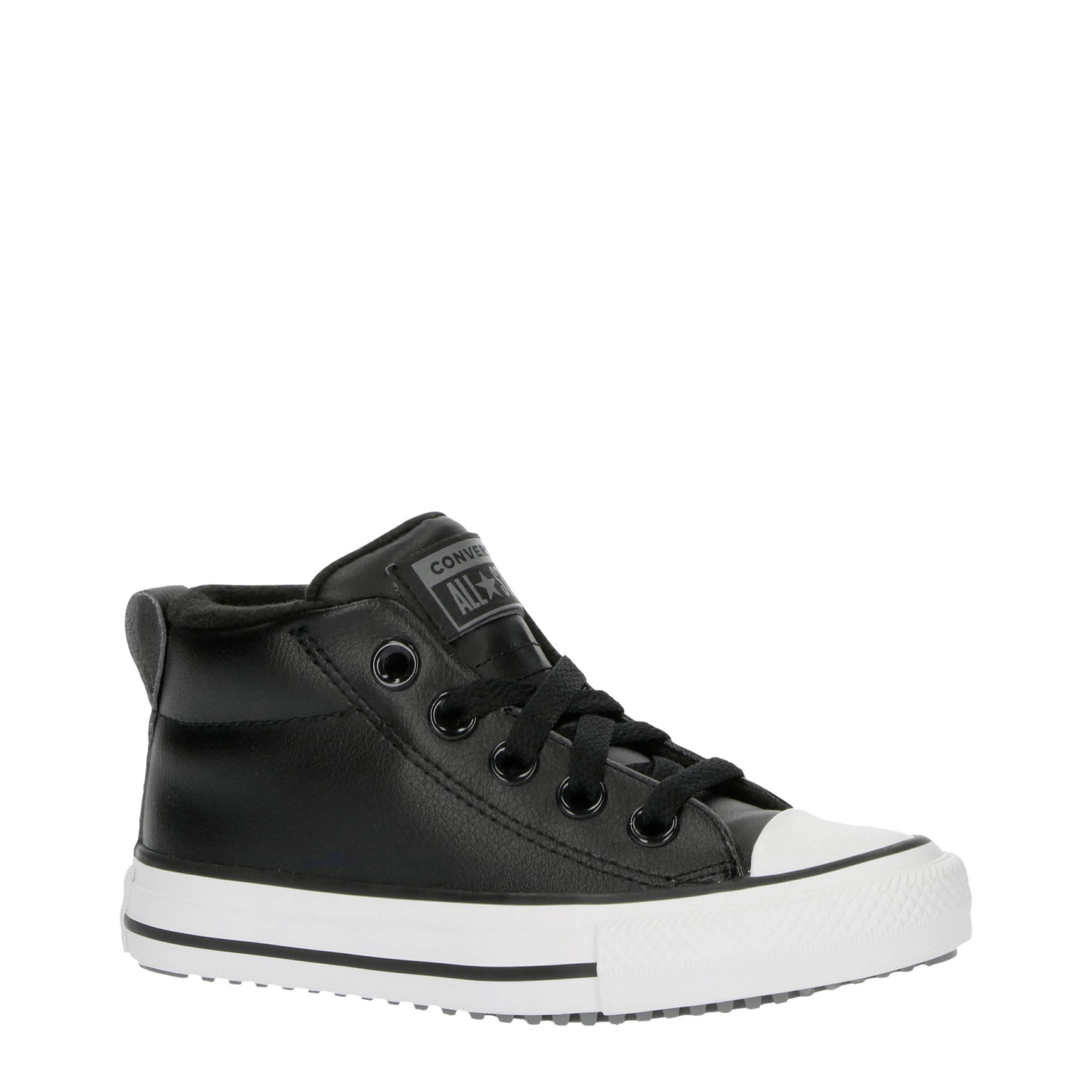Converse Chuck Taylor All Star Street Boot halfhoge leren ...