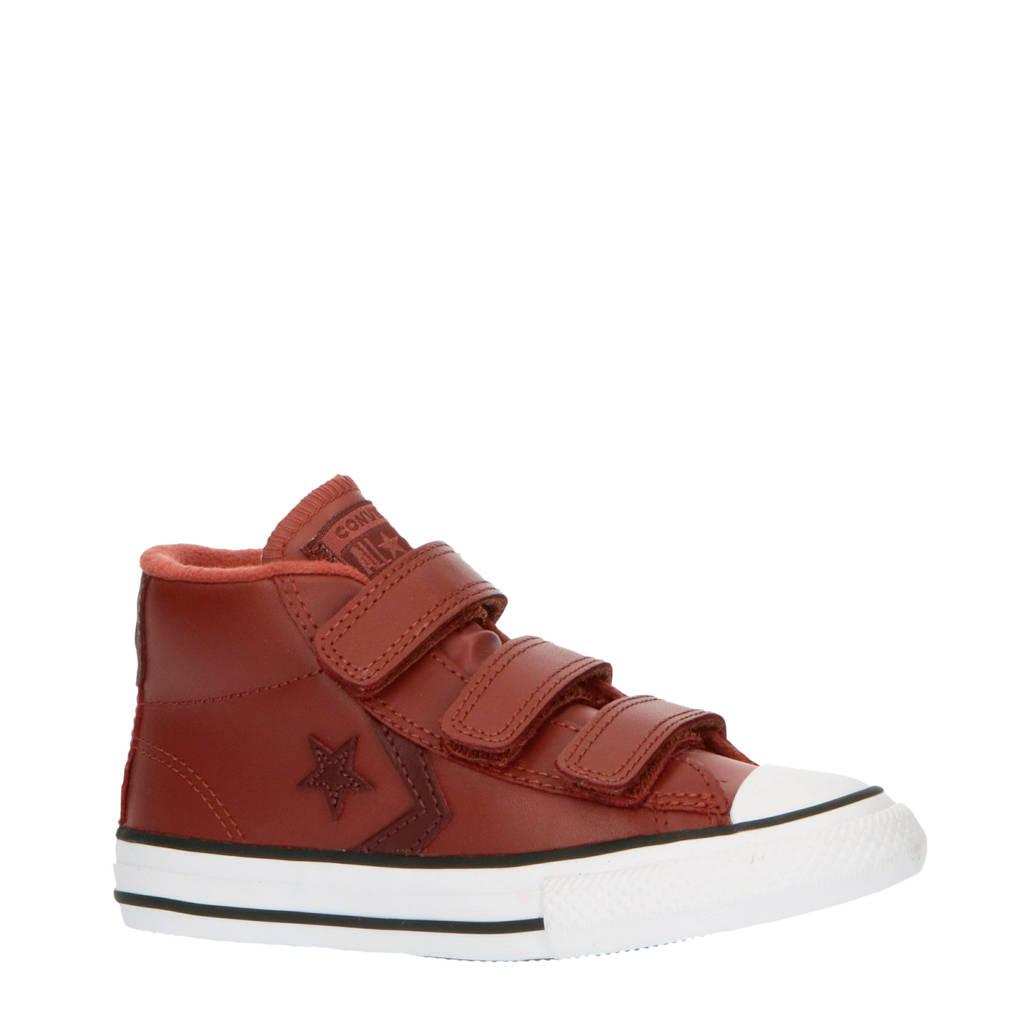 Converse Star Player 3V Mid halfhoge sneakers roodbruin, Roodbruin