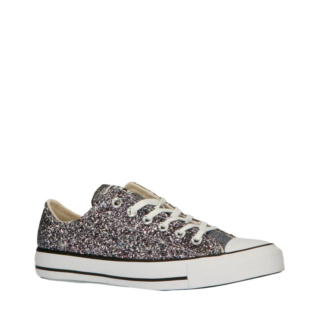 Converse Chuck Taylor All Star  sneakers zilver/glitters, Zilver/grijs