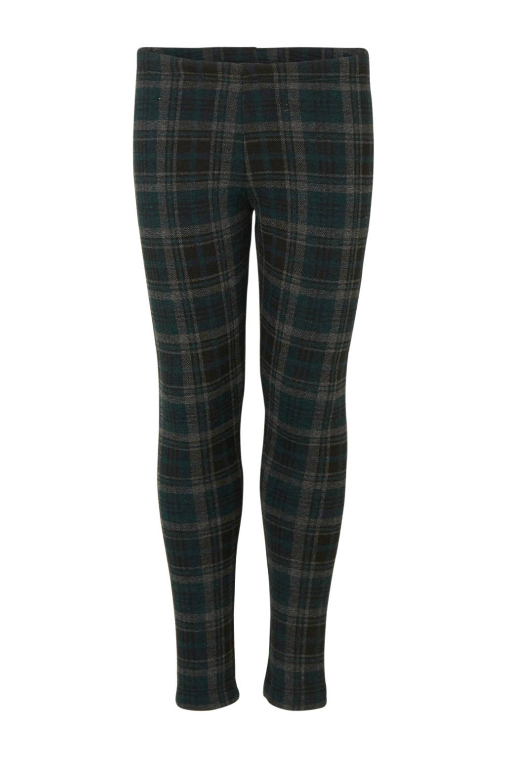 C&A Here & There geruite thermo legging groen, Groen