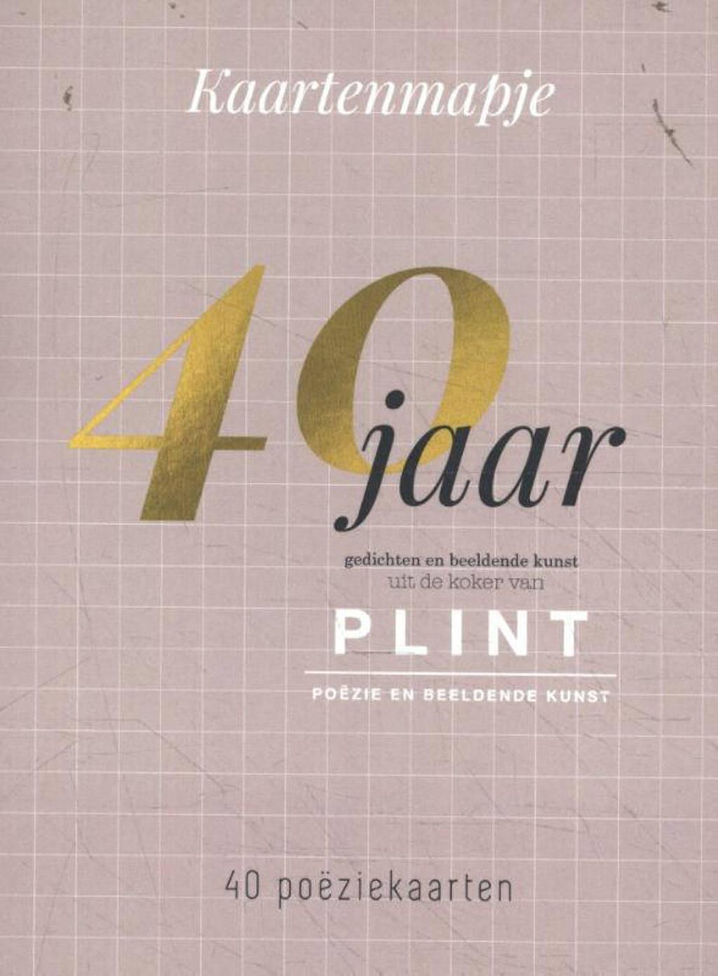 Plint: Plint 40 poëziekaarten uit 40 jaar plint
