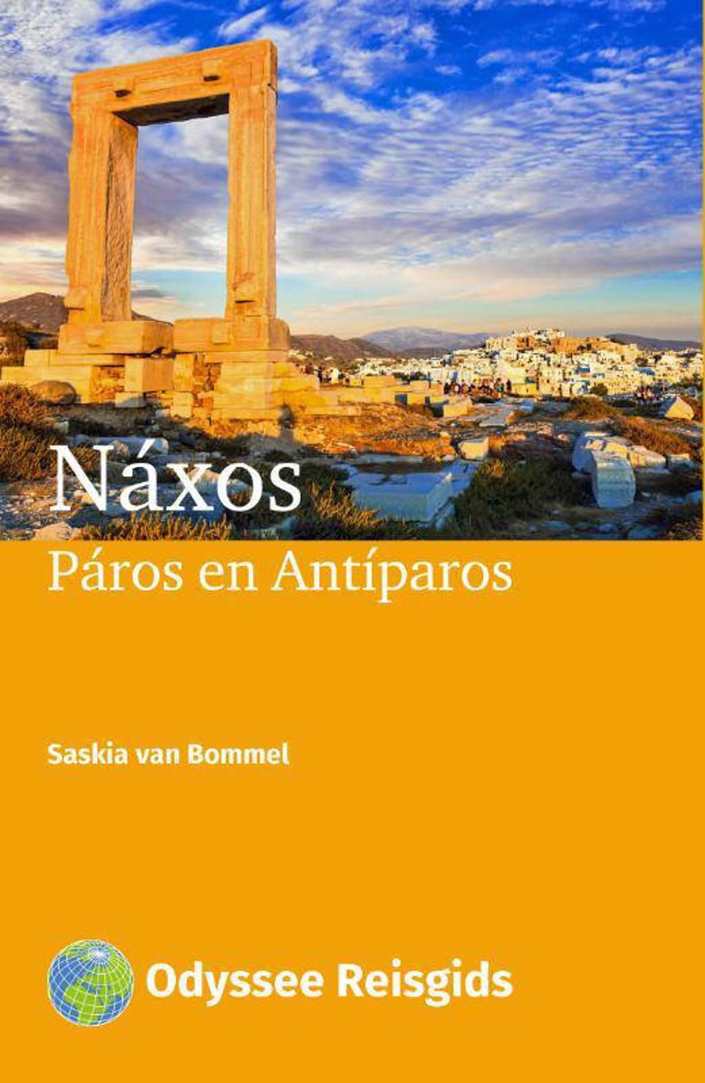 Odyssee Reisgidsen: Náxos, Páros en Antíparos - Saskia van Bommel