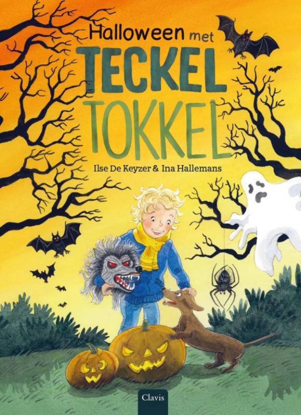 Halloween met teckel Tokkel - Ilse De Keyzer