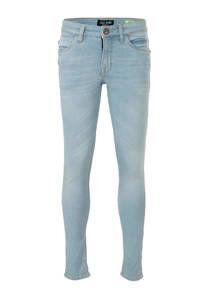 Cars slim fit jeans Aburgo met slijtage bleach used