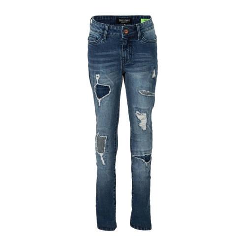 Cars slim fit jeans Bogey met slijtage stone used