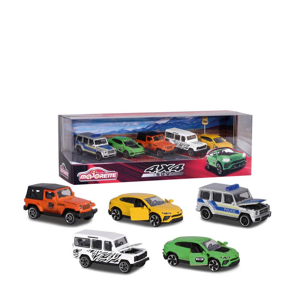 Majorette  Giftpack SUV 5 stuks, Multi