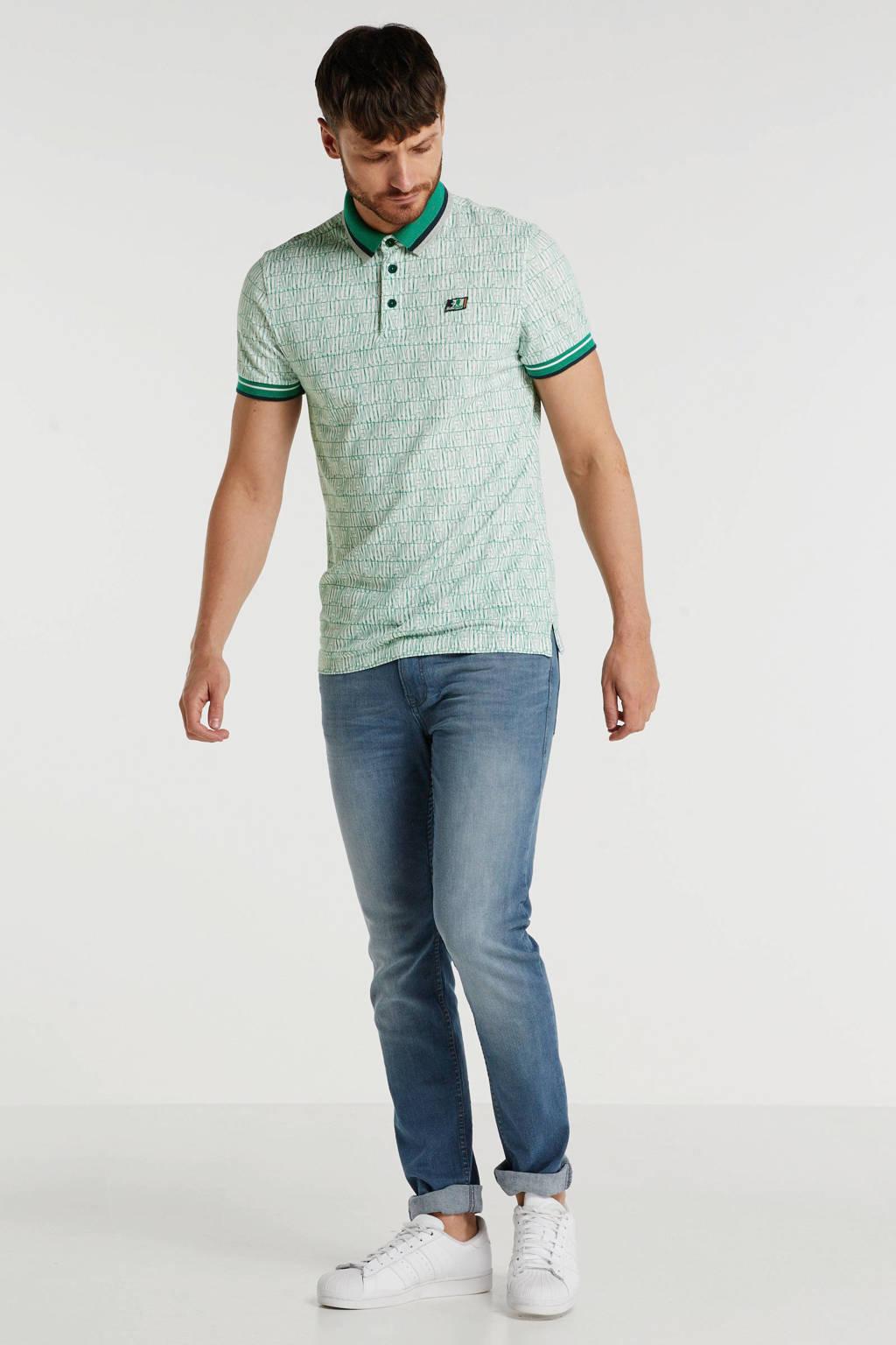Tom Tailor skinny jeans Culver grey blue denim, Grey Blue Denim