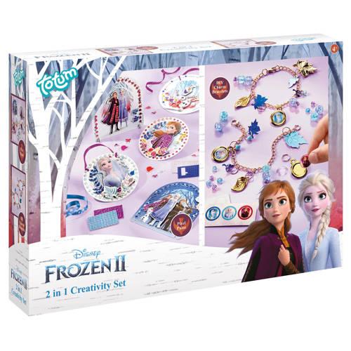 Disney Frozen 2 2 in 1 creatieve set - pixel paint