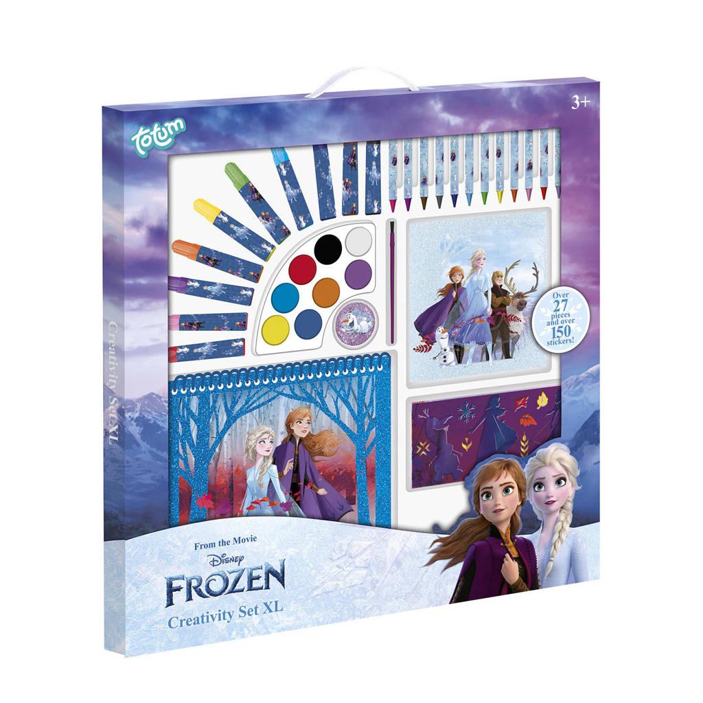 Disney Frozen 2  stationary set XL extra grote teken- en schilderset