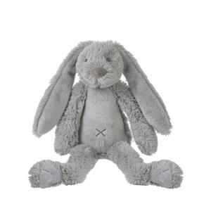 Tiny Grey Rabbit Richie knuffel 28 cm