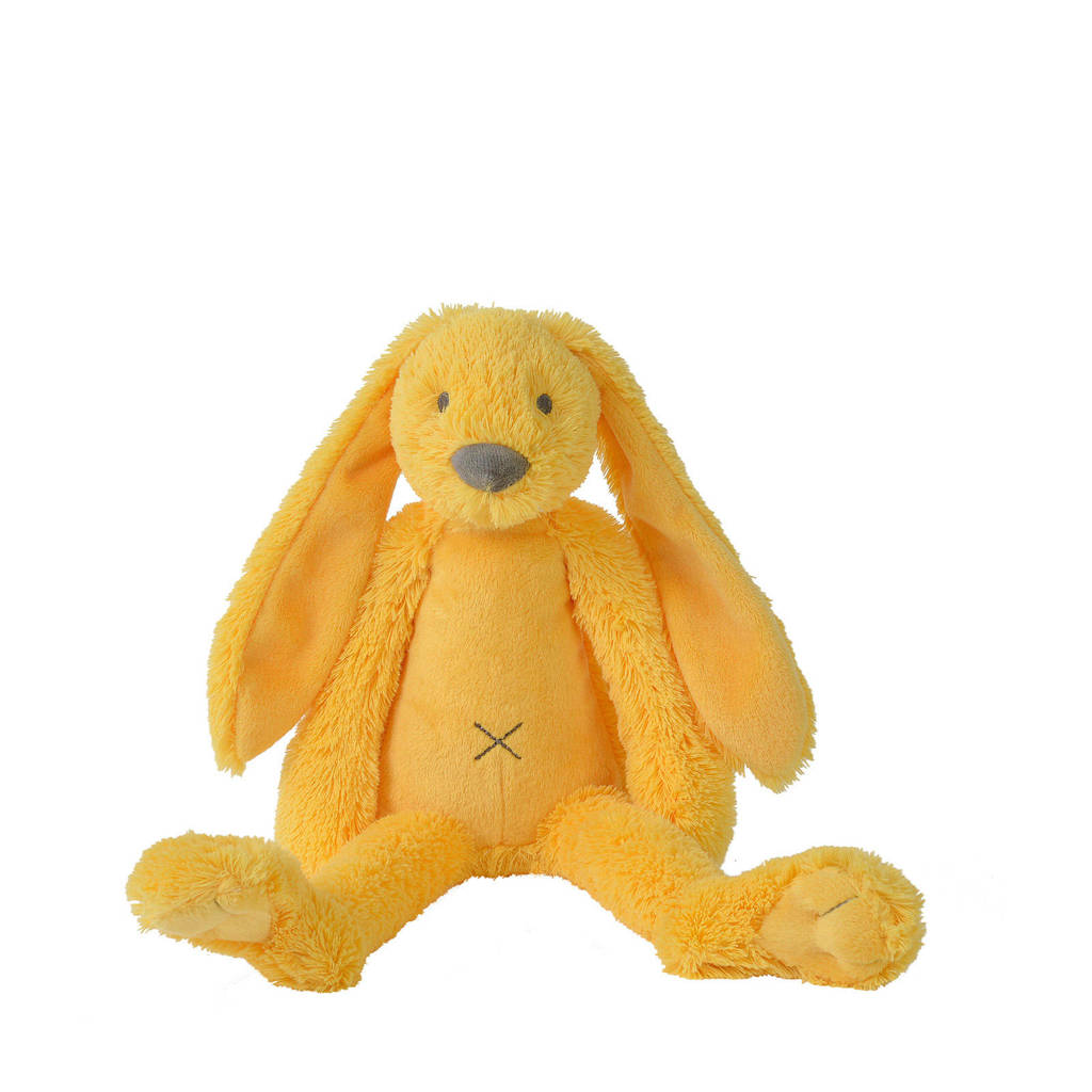 Happy Horse Yellow Rabbit Richie knuffel 38 cm, Geel