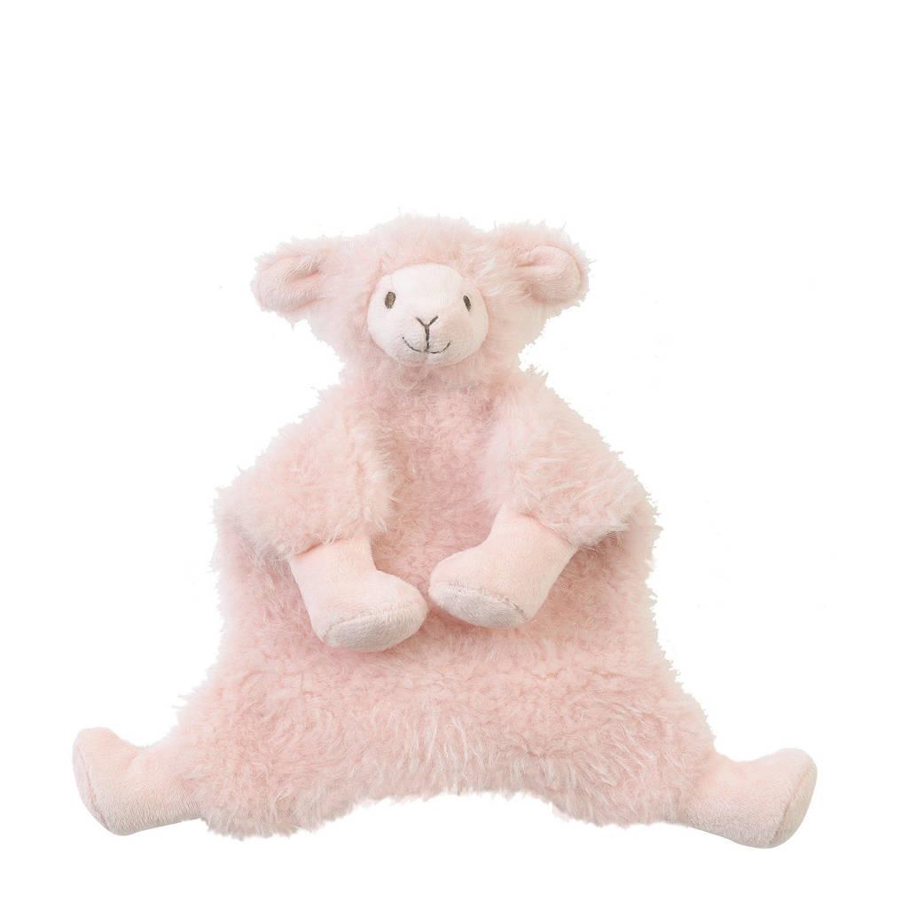 Happy Horse Lama Lush  knuffeldoekje, Roze