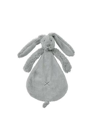 Grey Rabbit Richie  knuffeldoekje