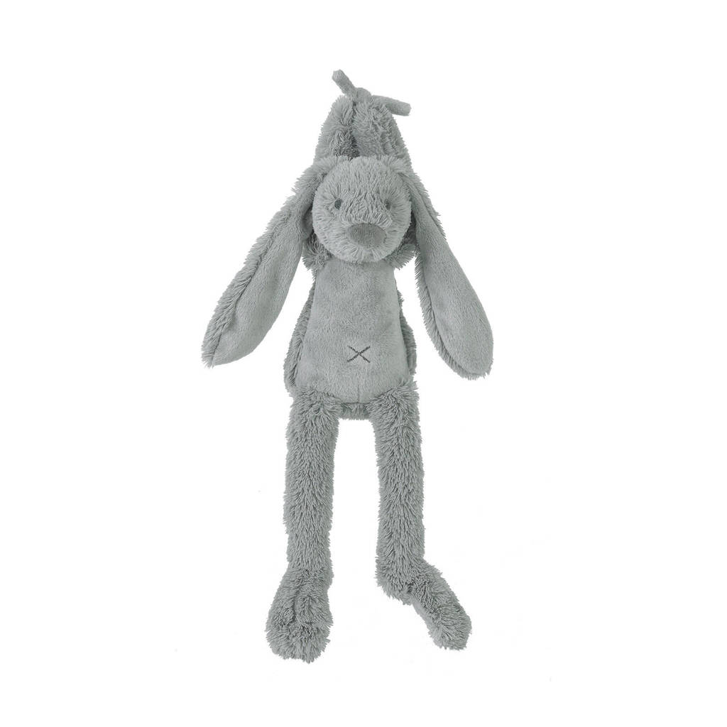 Happy Horse Grey Rabbit Richie Musical knuffel 34 cm