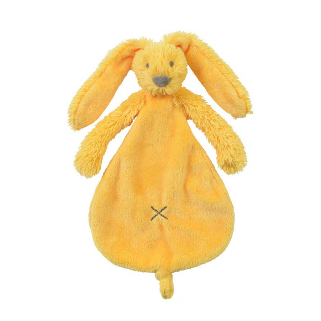 Happy Horse Yellow Rabbit Richie  knuffeldoekje, Geel