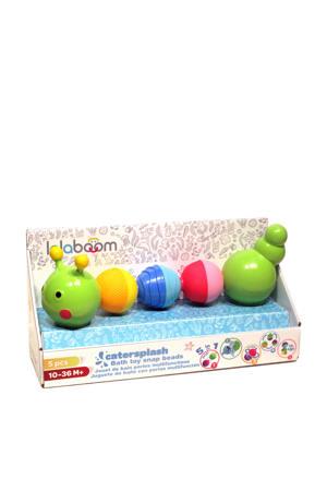 8 pcs beads caterpillar bath toy