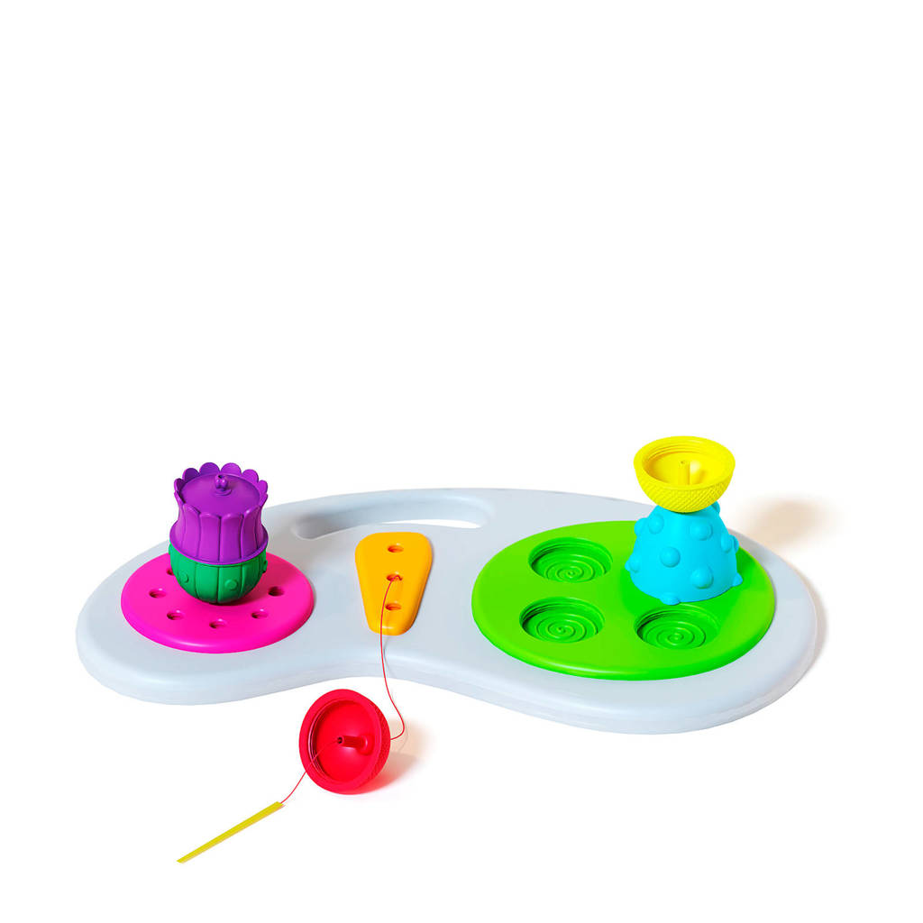 Lalaboom Education board + 8 pcs beads and acc