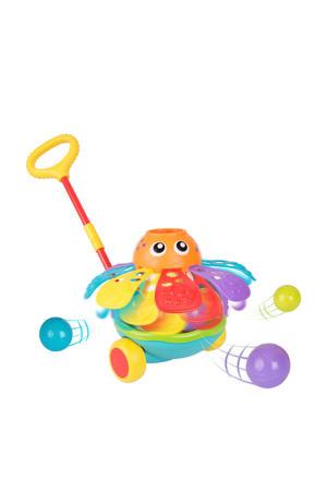 Push Along Ball Popping Octopus