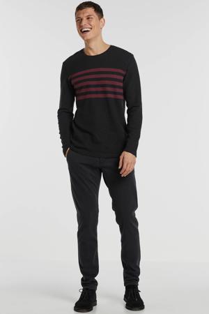 trui zwart/rood