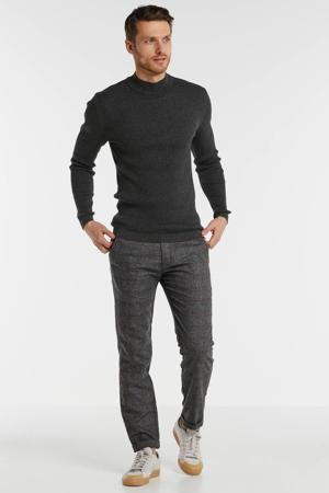 gemêleerde sweater antraciet