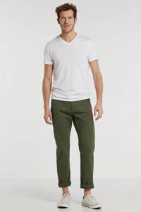 Dockers tapered fit chino olijfgroen, Olijfgroen