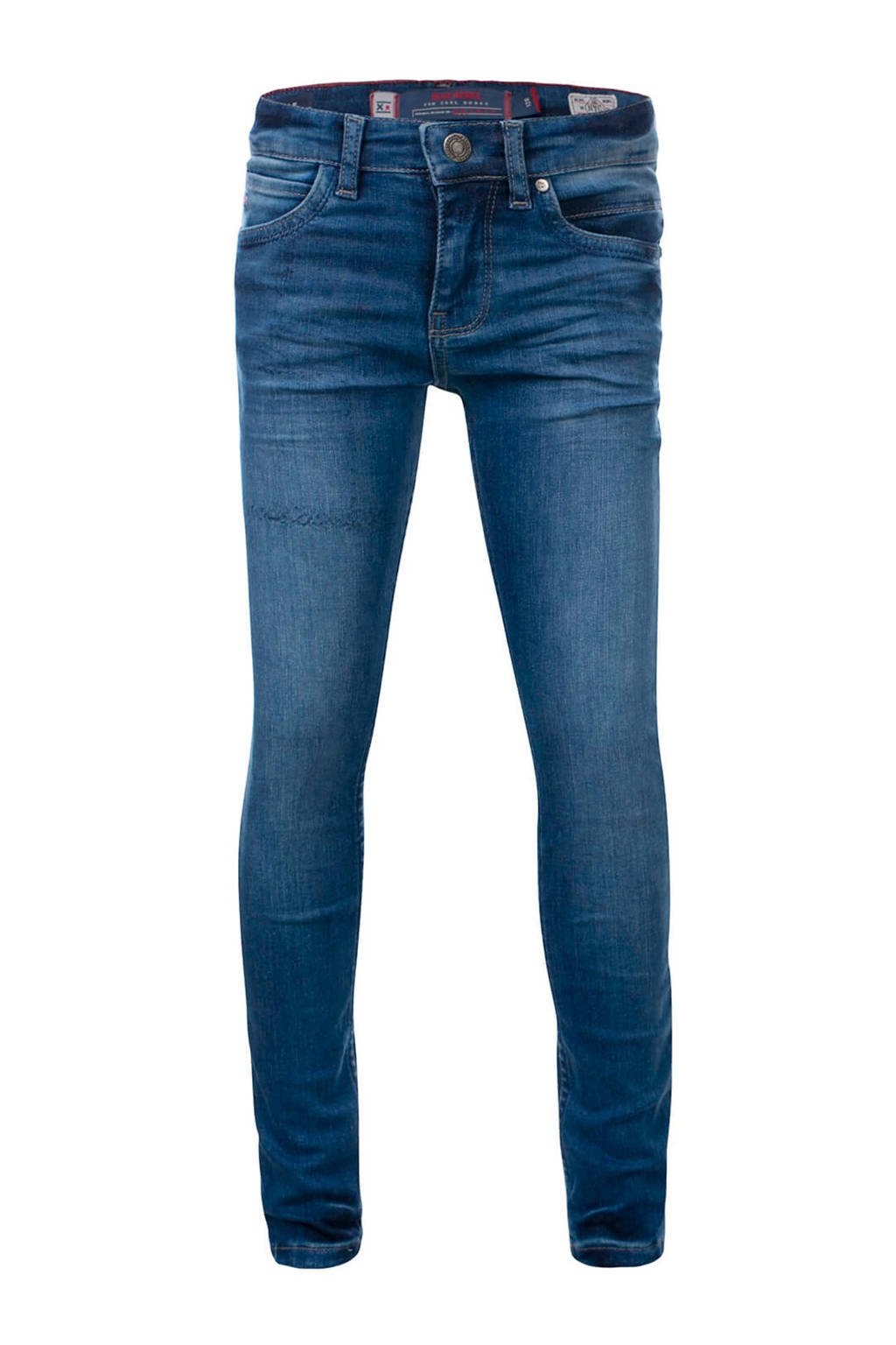 Blue Rebel skinny jeans Tile blauw (tahoe wash), Blauw (Tahoe wash)