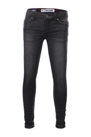 super skinny jeans Gold verwassen zwart (rock wash)