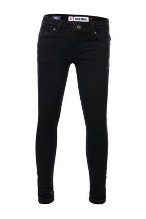 super skinny jeans Gold zwart