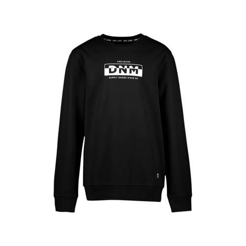Cars sweater met logo zwart