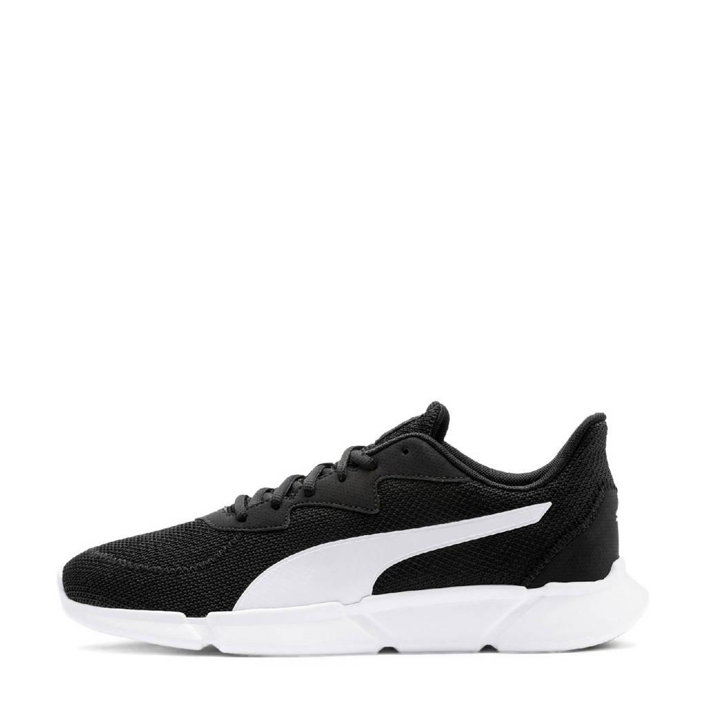 Puma Interflex  hardloopschoenen zwart/wit, Zwart/wit