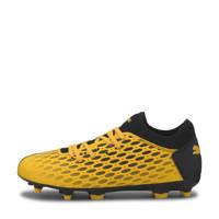 Puma Future 5.4 FG/AG Jr. sneakers geel/zwart, Geel/zwart