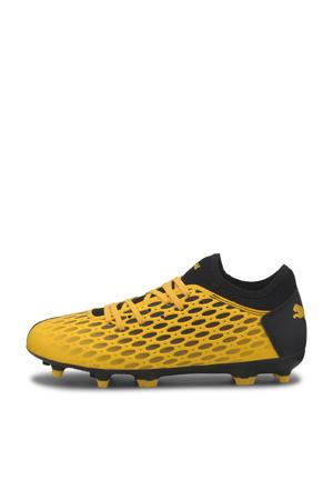 Future 5.4 FG/AG Jr. sneakers geel/zwart