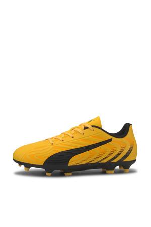 ONE 20.4 FG/AG Jr. voetbalschoenen geel/zwart