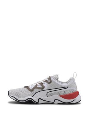 Zone XT Knit fitness schoenen wit/zwart/rood