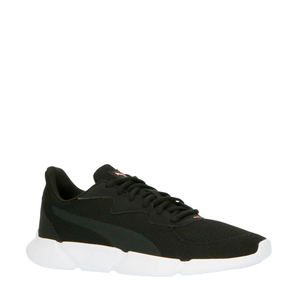 Puma Interflex Runner  hardloopschoenen zwart, Zwart