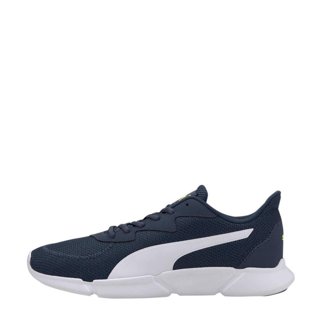 Puma Interflex  hardloopschoenen donkerblauw/wit, Donkerblauw/wit