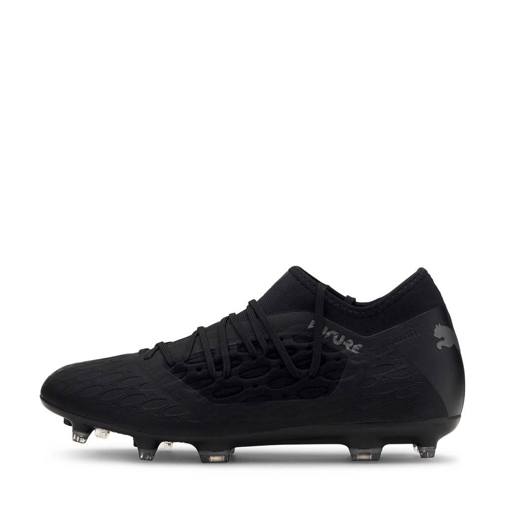 Puma Future 5.3 Netfit FG/AG voetbalschoenen zwart, Zwart