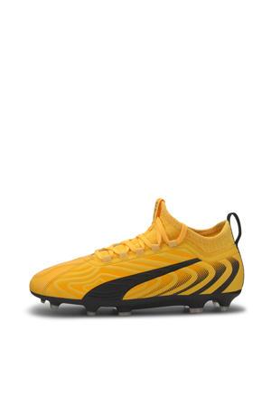 One 20.3 FG/AG Jr. voetbalschoenen geel/zwart