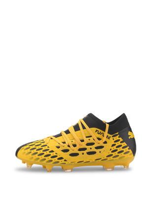 Future 5.3 Netfit FG/AG Jr voetbalschoenen geel/zwart