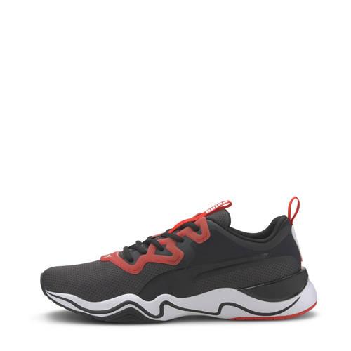 Puma Zone XT Knit fitness schoenen zwart/wit/rood
