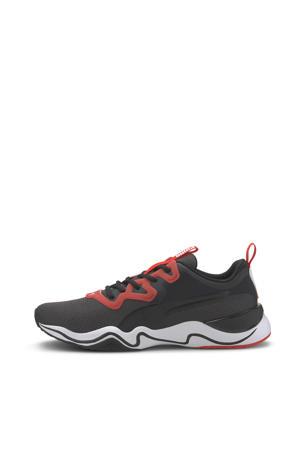 Zone XT Knit fitness schoenen zwart/wit/rood