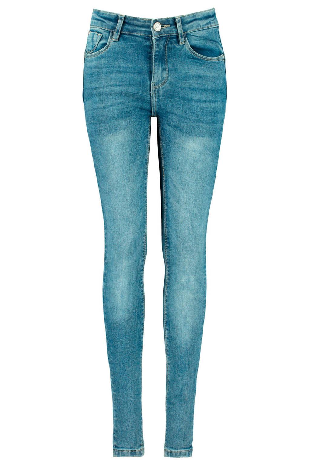 CoolCat Junior skinny jeans Kate lichtblauw, Lichtblauw