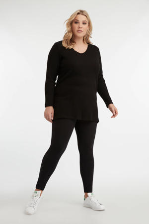 legging zwart - set van 2