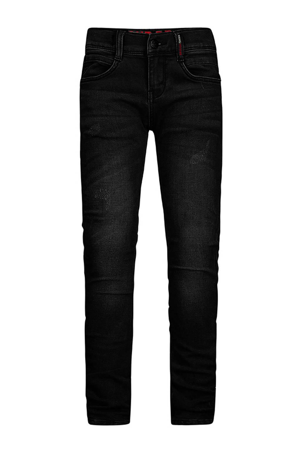 Retour Denim straight fit jeans Luigi zwart, Zwart