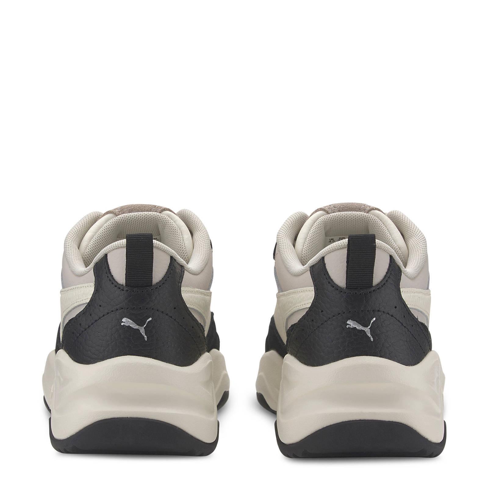 Puma Cilia Lux sneakers zwart/wit/beige | wehkamp