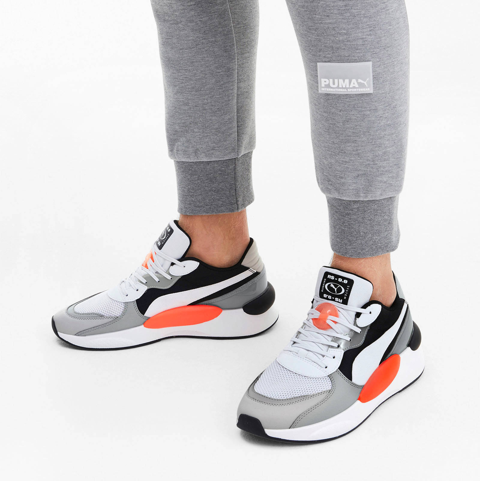 Puma RS 9.8 FRESH sneakers lichtrijs | wehkamp